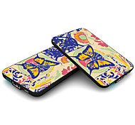 MC5 CARD 5000mah Power Bank,Credit Card Size External Battery Charger Mobile Power Bank Butterfly