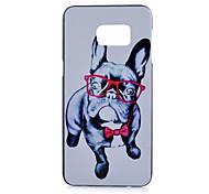 Für Samsung Galaxy Note Muster Hülle Rückseitenabdeckung Hülle Hund PC Samsung Note 5 / Note 4