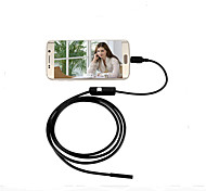 Android endoscope USB endoscope Android 7mm 6 LED caméra étanche USB endoscope 1m otg Android caméra IP66 CCTV