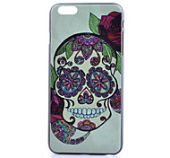 Skull Pattern PC Phone Case For iPhone 6