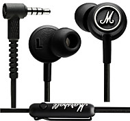 MARSHALL-Mode Headphones Original High-Output Unique Custom Design Earphones with Mic and Remote for Iphone 6 / 6Plus