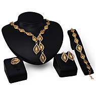 Quality Gold Jewelry Set