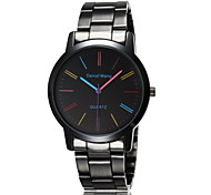 Stainless Steel Band Watch Women Colorful Dress Watches Brand Ladies Elegance Watch Charms Luxury Geneva Watch Wrist Watch Cool Watch Unique Watch