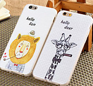 New Cartoon Drawing TPU Soft Shell for iPhone6/iPhone 6s(Assorted Colors)
