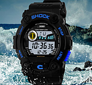 Unisex Watches  Skmei Montre Homme Led Waterproof Silica Gel Watches Men  Wrist Watch