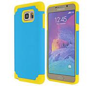 magia SPIDER® 2 en 1 silicio y caso del protector a prueba de choques de plástico para Samsung Galaxy Note 5 (color clasificado)