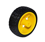 70 * 25mm / 5.3 * 3.3mm ruedas amarillas (de uso común)