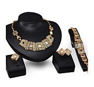 European And American Fashion Jewelry Set