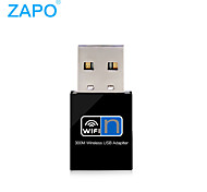 Zapo W77 usb placa de rede sem fio rtl8192 300m placa wireless mini-usb receptor wi-fi sem fio placa wireless