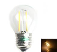Zweihnder Lâmpada de Filamento LED Decorativa E26/E27 1 W 120 LM 3000-3500 K Branco Quente 2 LED Dip 1 pç AC 220-240 V G