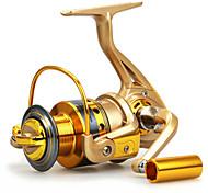 Mulinelli per spinning 5.5:1 10 Cuscinetti a sfera Intercambiabile Spinning - HF5000/HF6000/HF7000 N/A