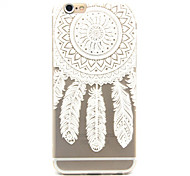 Dream catcher Pattern TPU Relief Back Cover Case for iPhone 6/iPhone 6S