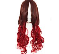anime moda must-have long festival de cor qualidade perucas de cabelo