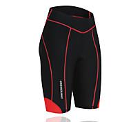 Getmoving Women's / Men's Spring / Summer / Autumn / Winter Four pin six line bike shorts/Red black