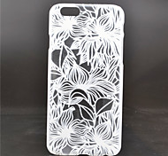 Lotus Leaf Pattern PC Material Phone Case for iPhone 6
