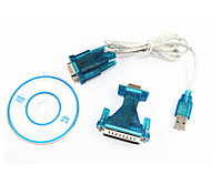 ourspop usb it232 a DB9 serial adaptador rs232 cable de vista de 9 pines