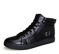 Men's Shoes Office & Career / Athletic / Casual Fashion Sneakers Black / White
