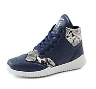Men's Shoes Outdoor / Casual Fashion Sneakers Black / Blue / White