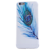 Peacock Feathers Pattern TPU Cell Phone Soft Shell For iPhone 6