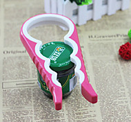Kitchen Tools Originality Skid Resistance Bottle Opener (Random Color)
