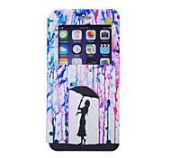 Umbrella Pattern Window Bracket Section Full Package Phone Case for iPhone 6S