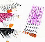 22 Nail Art Kits Nagel-Kunst-Maniküre-Werkzeug-Kit Make-up kosmetische Nail Art DIY