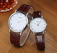 Couples Watch South Korea Fashion Simple Dial belt