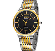 Men's Japanese Quartz Gold Steel Band Water Resistant Dress Watch Jewelry Cool Watch Unique Watch