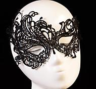 1pcs Sexy Black Lace Venetian Mask Masquerade Ball Prom Halloween Costume Fancy Dress