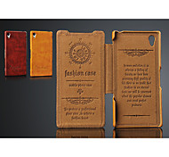 Mobile Phone Leather Case  for Xperia Z2 L50W