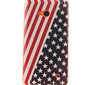 The American Flag Design TPU + IMD Phone Case For Nokia N640