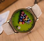 Unisex Circular Quartz Fashion Wrist Watch Women's Watch Student Watch Men Watch(Assorted Colors)