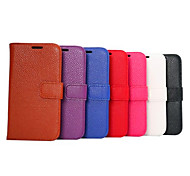 Litchi Grain Leather Pattern PC Inside Case Case with Kickstand For The HTC ONE M9 Mobile Phone Shell(Assorted Colors)