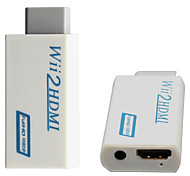 Wii to HDMI Wii2HDMI Adapter Converter Full HD 1080P Output Upscaling + 3.5mm Audio Box