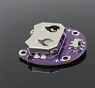 LilyPad Cell Button CR2032 Battery Holder Module – Purple