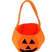 Хэллоуин оранжевые нетканые материалы КПК тыквы мешок