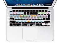 XSKN OS X  Shortcut Overlay Silicone Keyboard Cover for Macbook pro air retina 13'' 15'' 17'' EU  US Version