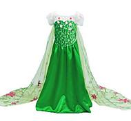 Halloween / Christmas / Children's Day Kid Princess series Costumes / Movie & TV Theme Costumes Costumes Dress