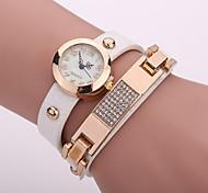 Xu™ Women's Rivet Diamonds Quartz Watch