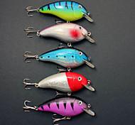 5 pcs Harte Fischköder / Angelköder Ködertasche / kleiner Fisch / Kurbel / Jerkbaits / Harte Fischköder Phantom 15 g Unze mm Zoll,Metall