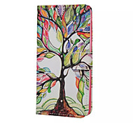 Maple Tree Pattern PU Leather Full Body Case with Stand for Multiple LG G3MINI/G4
