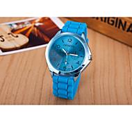 new personalized fashion version of the cheetah   pattern  silicone quartz watch fashion ladies watch