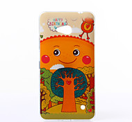 Happy Pattern TPU Soft Case for Nokia N640