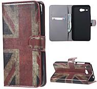 für Acer Liquid z520 decken uk Flagge Muster Leder Brieftasche Flip Standplatzfall für Acer Liquid Z520 Handytaschen