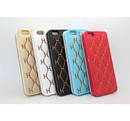 3D Embroidery Stent Holster PU Mobile Phone for iPhone6S(Assorted Color)