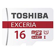 Original TOSHIBA EXCERIA 16GB MicroSDHC UHS-1 Memory Card 48M/S