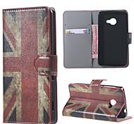 für Acer Liquid Z220 decken uk Flagge Muster Leder Brieftasche Flip Standplatzfall für Acer Liquid Z220 M220 Handytaschen