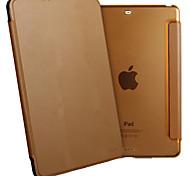 ESR yippee Farbserie leichte tri-fach PU Leder Schutzhülle für iPad Mini 2.3 / 1-Mokkabraun
