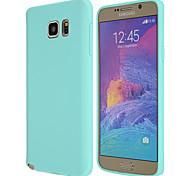 Zauber spider®candy farbenen matte ultra dünnes TPU weiche Tasche für Samsung Galaxy Note 5 / Anmerkung 4 / Anmerkung 3 (Farbe sortiert)