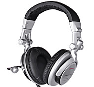 HIFI Gaming Wired Headphones  with In line Mic & Volume Control Ear Noise Cancelling Cute Earphones Game Metal Earphone